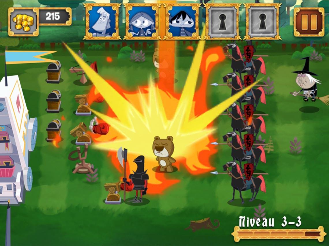Capture écran Tower Defense 2